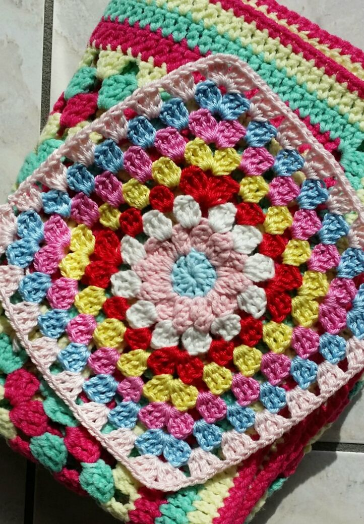 Granny | CROCHET GRANNY BLANKETS & PILLOWS | Pinterest