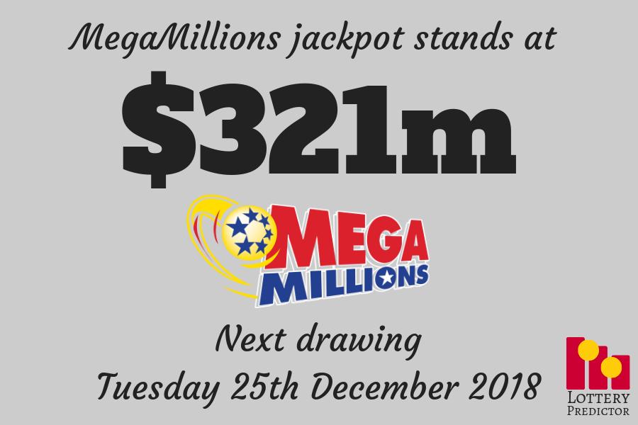 The Mega Millions Lottery Jackpot For Christmas Day Winning Lottery Numbers Lottery Mega Millions Jackpot