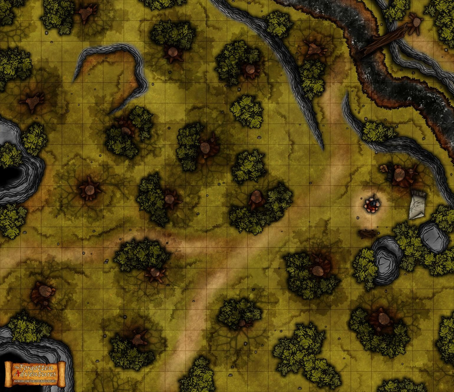 photo relating to Cragmaw Hideout Printable Map named Shed Mines Of Phandelver Maps