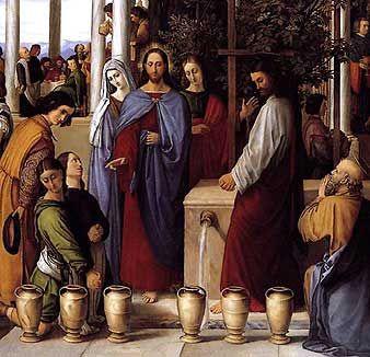 The Wedding Feast At Cana Julius Schnorr Von Carosfeld 1819