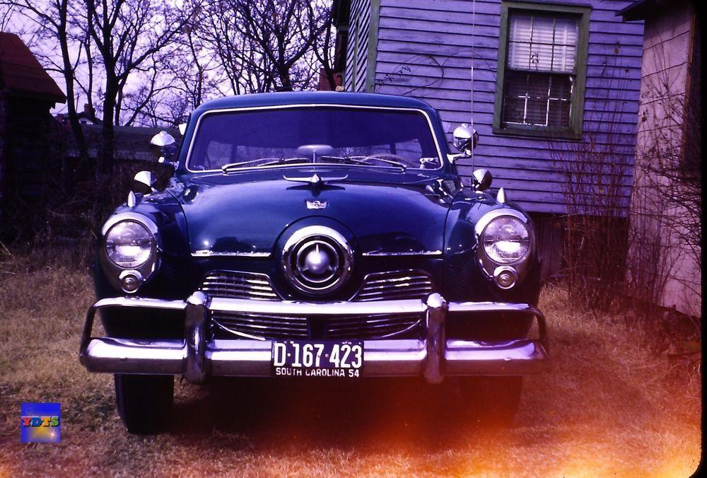 Original 35mm Vintage Slide Front End of Early 1950s Studebaker ...