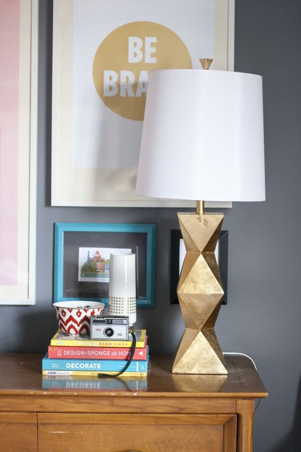3 Ways To Style The Ripley Gold Table Lamp Diy Pinterest Table
