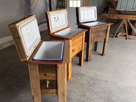 Well Traveled / cooler box   Möbel selbst bauen   Pinterest   Box ...