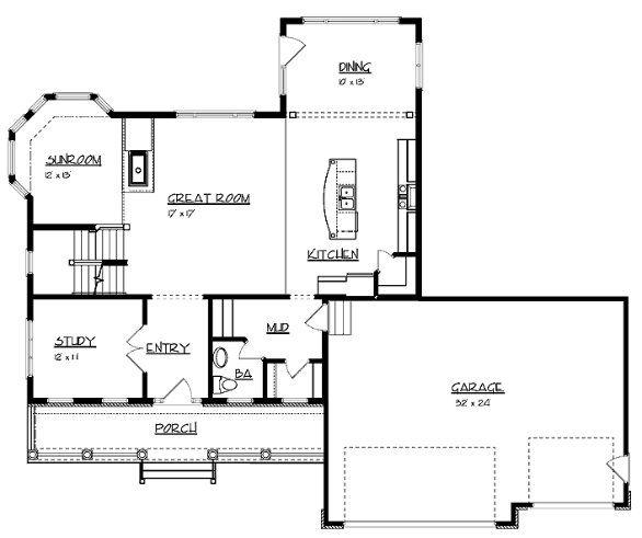4 dormitorios planta baja casas a dos aguas pinterest planta baja planos de casas y bajos - Planos casas planta baja ...