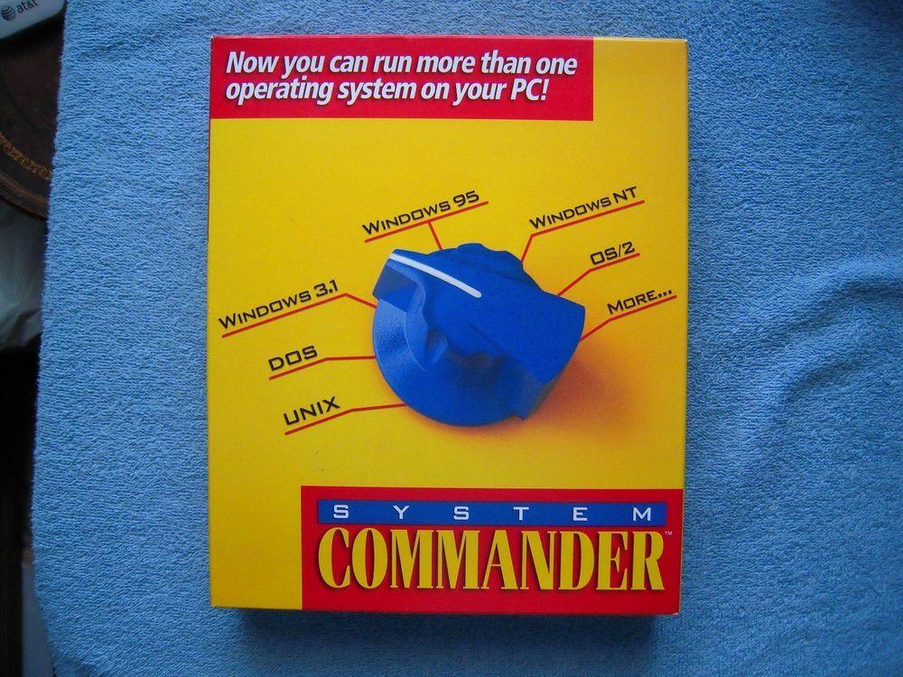 System Commander 3 0 Software DOS Windows 95 Multiple OS Boot Disk