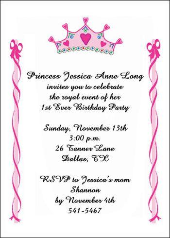 childrens birthday invitations for