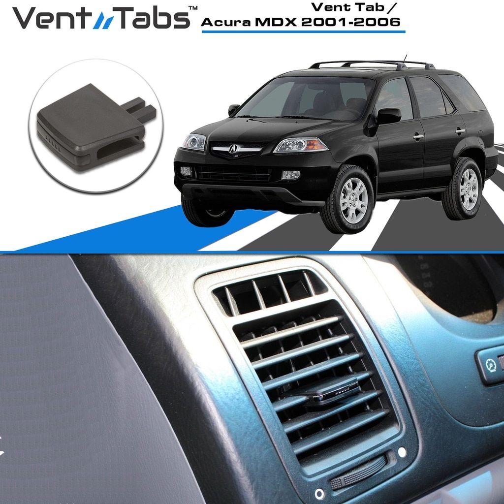 Acura Vent Tabs: MDX 2001, MDX 2002, MDX 2003, MDX 2004