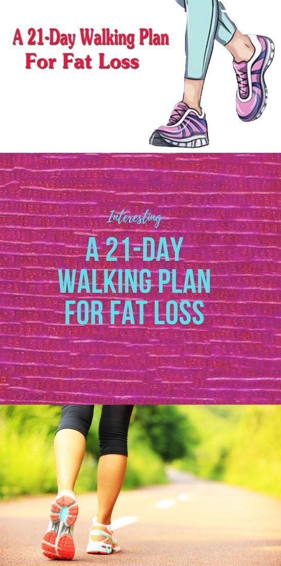 Photo of A 21-Day Walking Plan For Fat Loss