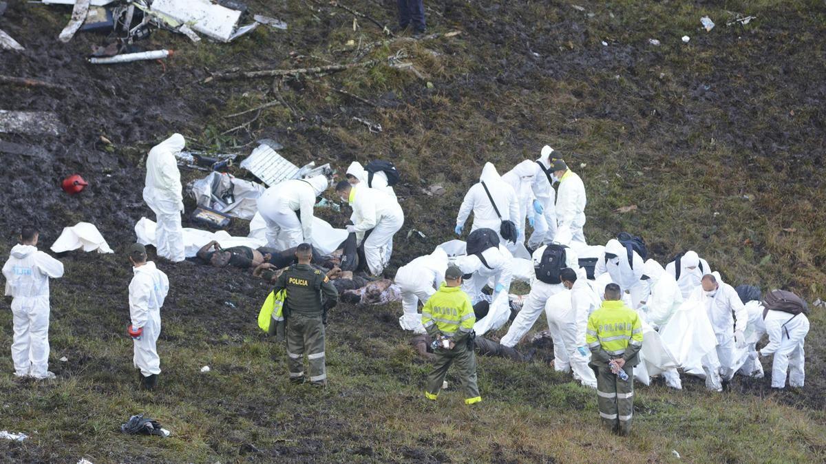 La impactante imagen de la tragedia del Chapecoense que recorre el mundo