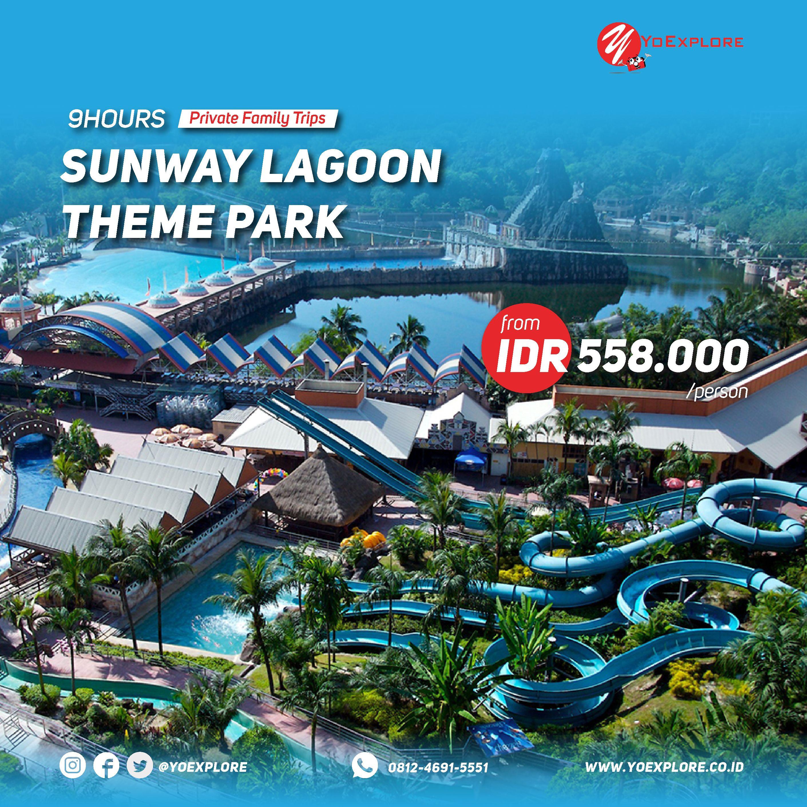 Family Trips With Kids Enjoy Sunway Lagoon Theme Park Asia