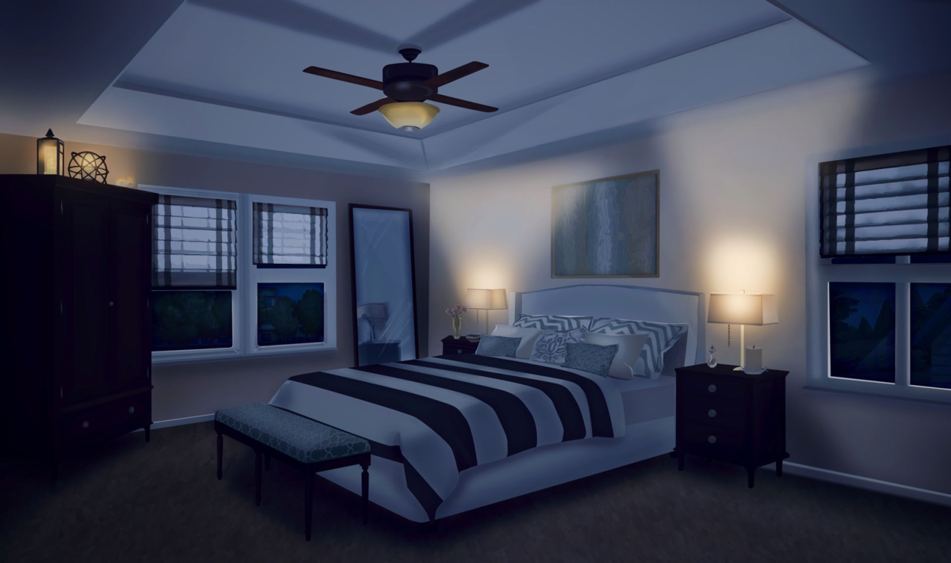 The Singing Omega Anime Backgrounds Wallpapers Anime Scenery Bedroom Designs Images Bedroom background for gacha