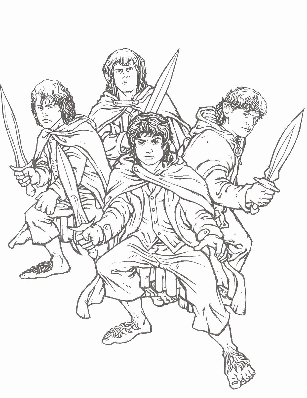 Lord Of The Rings Coloring Book New Lord Of The Rings Coloring Pages Coloring Books Cat Coloring Book Coloring Pages