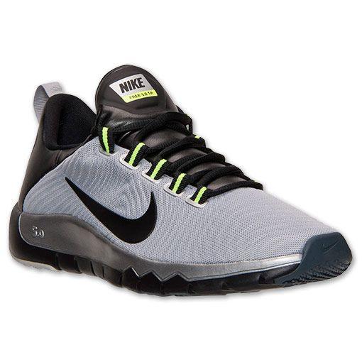 Nike Hommes Formateurs Libres 3.0 - Gris Aimant / Pompes Noires