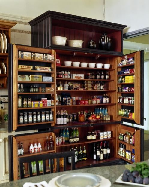 Amazing A Gorgeous Cabinet Section For Kitchen Items And Food. If No Space For A  Designated Pantry And Space Is Available Then This Cabinet Is Perfection. Home Design Ideas