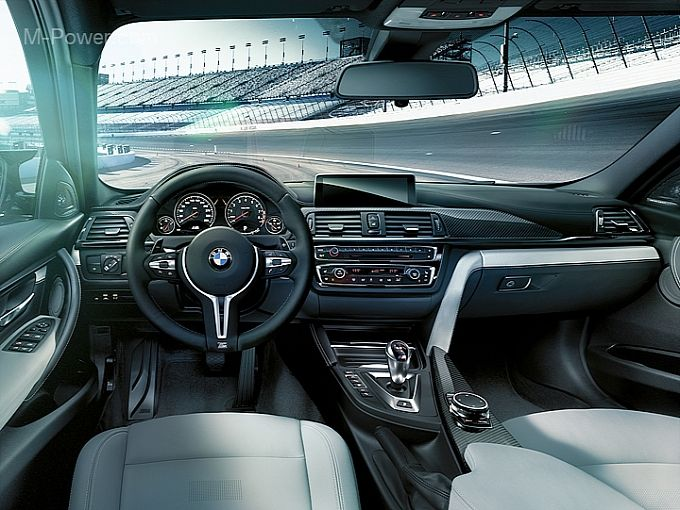 Bmw M4 Coupe Interior Design Detailed With Images Bmw M4 Bmw