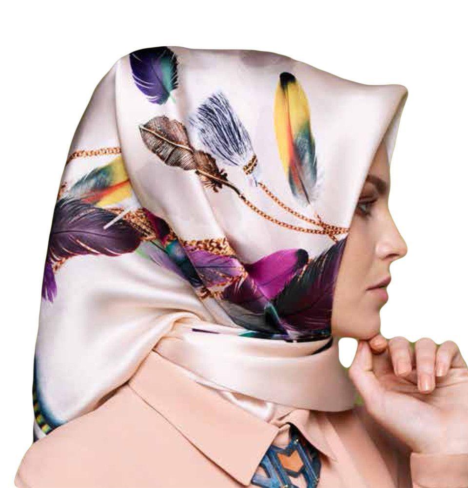 Armine Turkish Silk Square Hijab Scarf Spring Summer 2016  7409 ... 9c5a475a3d2