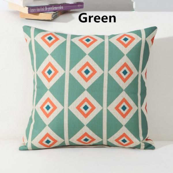 Geometric throw pillow decoration home linen cushions for couch