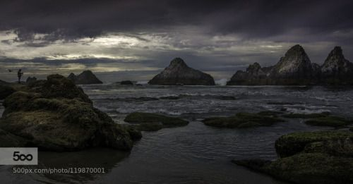 Seal Rock by jean-jacques  Seal Rock beach coast d7100 jean-jacques thebault landscapes nikon d7100 north america northwest pac