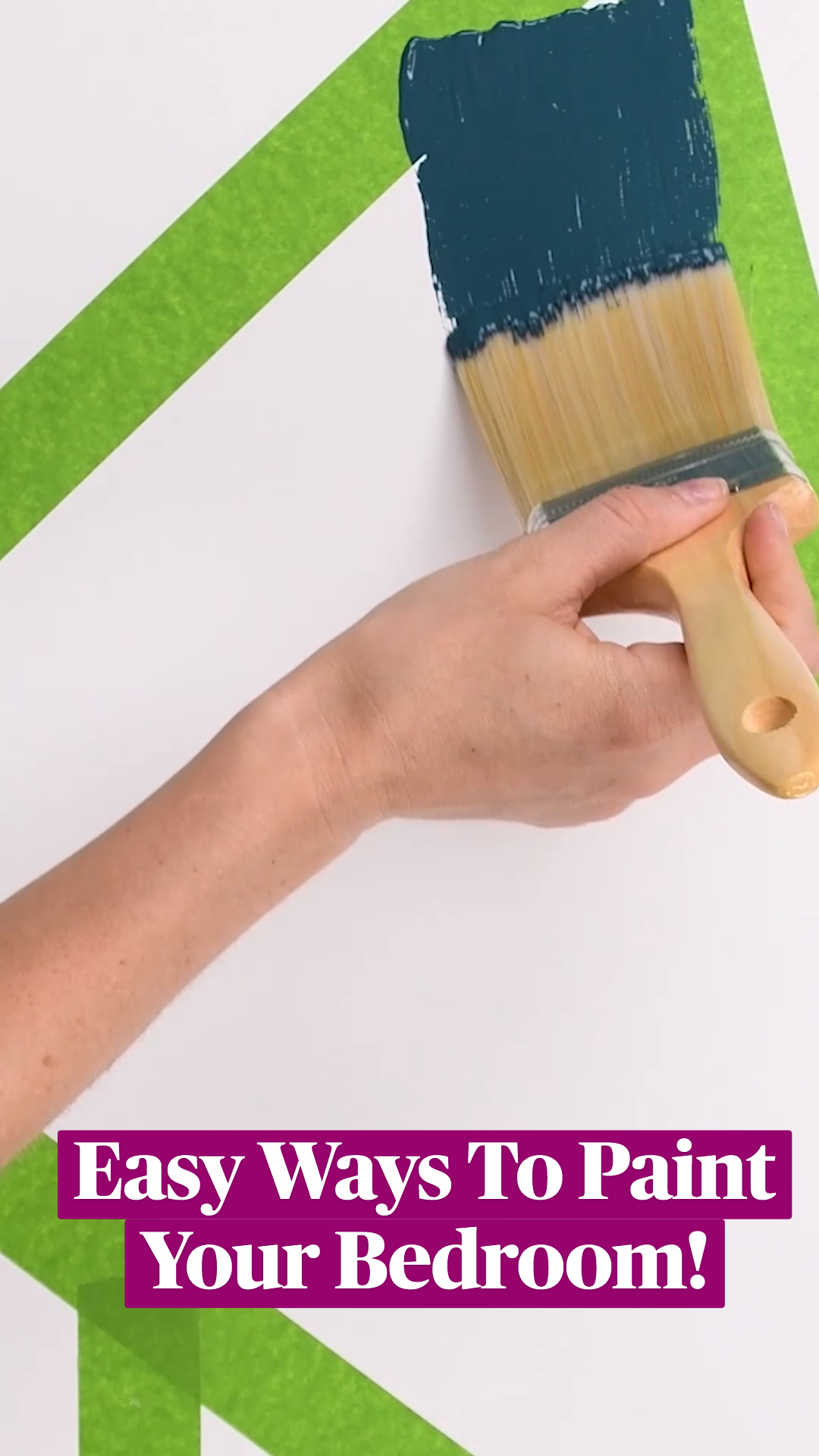 Easy Ways To Paint Your Own Bedroom!