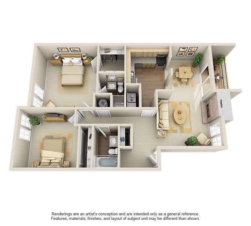 One Two Three Bedroom Apartments In Edmond Ok Edmond Oklahoma Apartment Steadfast Apartment Layout My House Plans House Plans