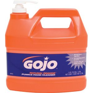 Costco Gojo Natural Orange Hand Cleaner Gal Pump Bottle 4 Ct Scented Lotion Citrus Scent Hand Lotion