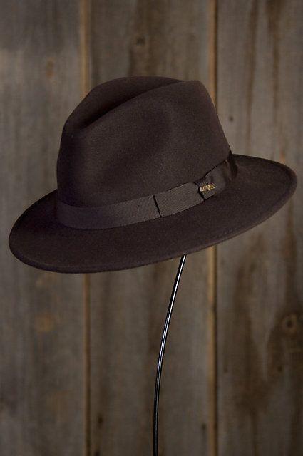 d8f6b31619c Crushable Wool Felt Fedora Hat