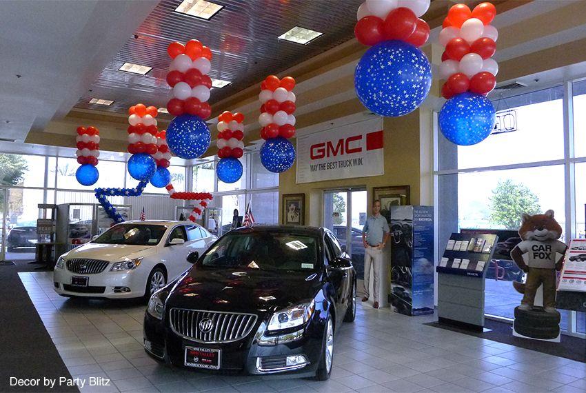 Car dealerships utilizing ClikClik System for signage