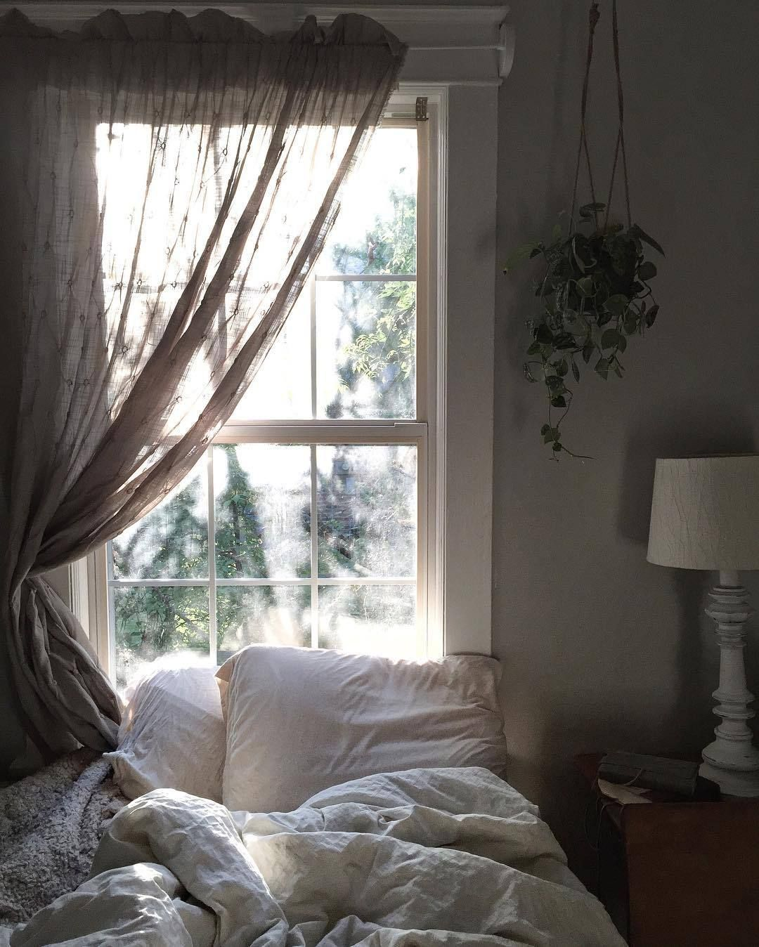 Bed under window ideas  kristin hornstein   bedroom   pinterest  bedrooms