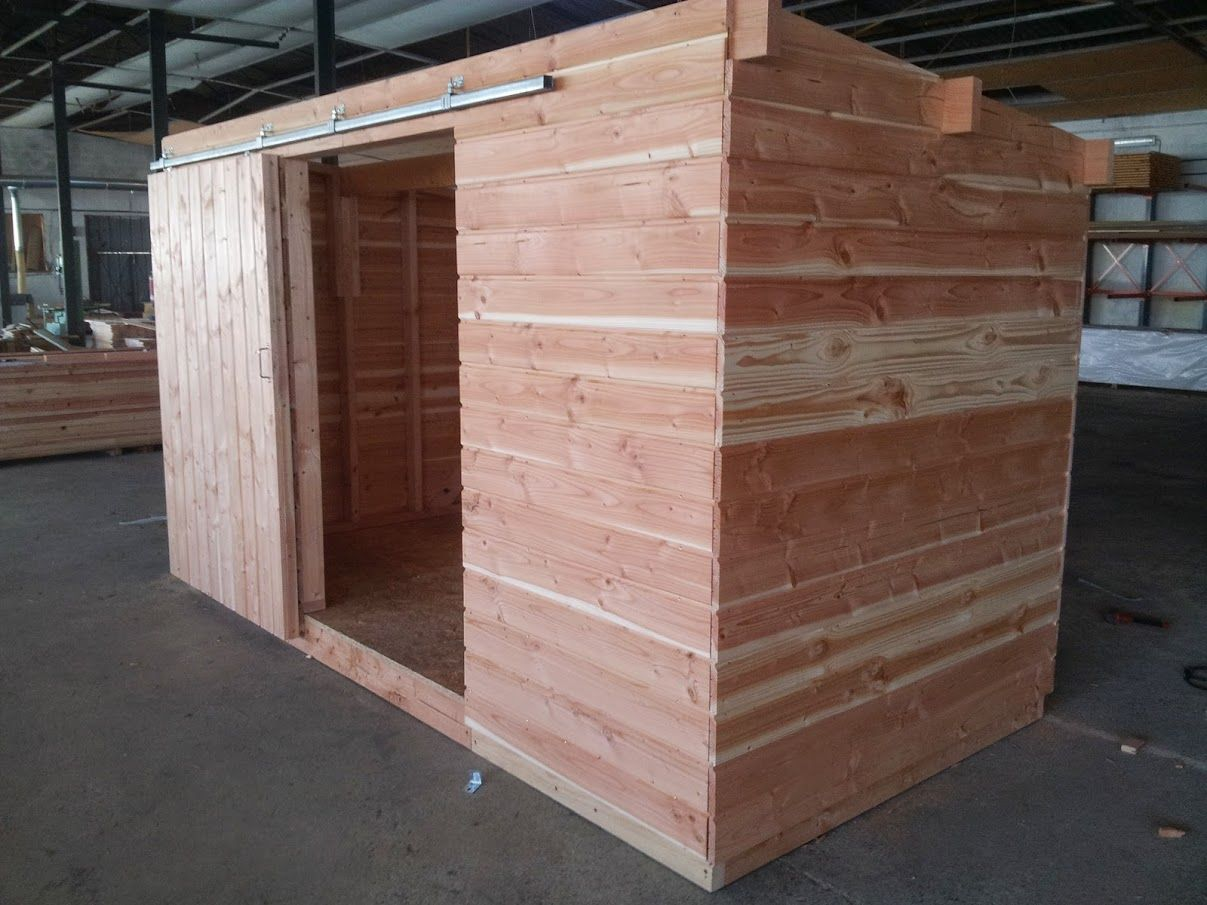 Abri de jardin bois sur mesure   abri jardin en bois   Pinterest ...