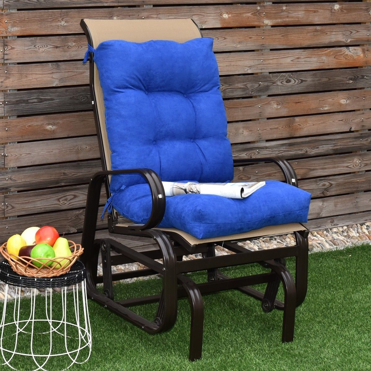 "42"" Indoor Outdoor Tufted Chair Cushion Indoor chairs"