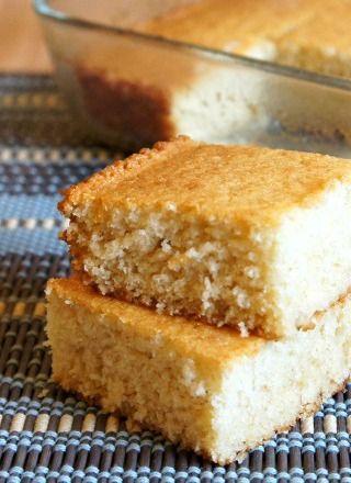 Southern-style sweet cornbread