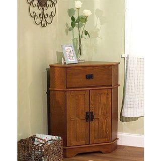 shop for simple living mission corner cabinet get free shipping at rh pinterest co uk Living Room Corner Trim Corner Storage