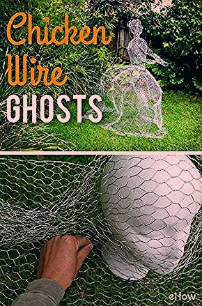 Photo of How to Make Chicken Wire Ghosts | eHow.com