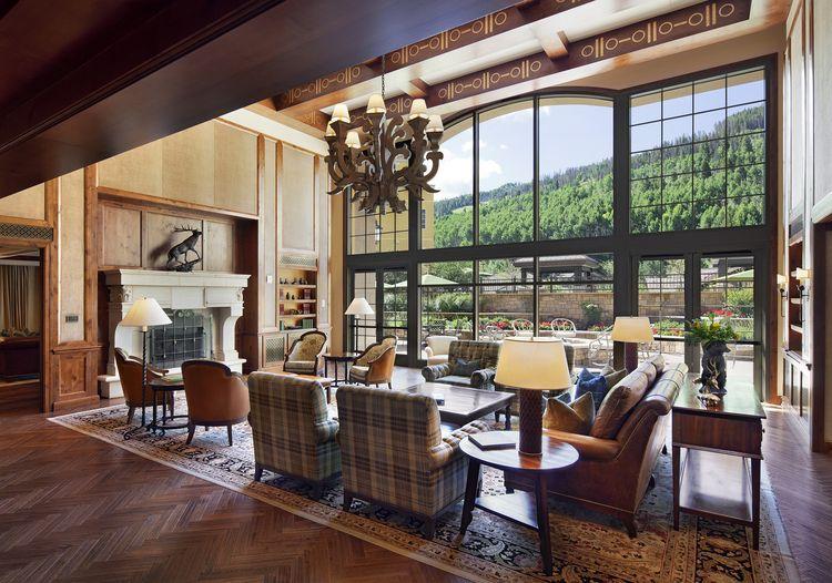 Awesome RITZ CARLTON RESIDENCES AT VAIL U2014 Lobby | Interior Design | Contract |  #hotelinterior #