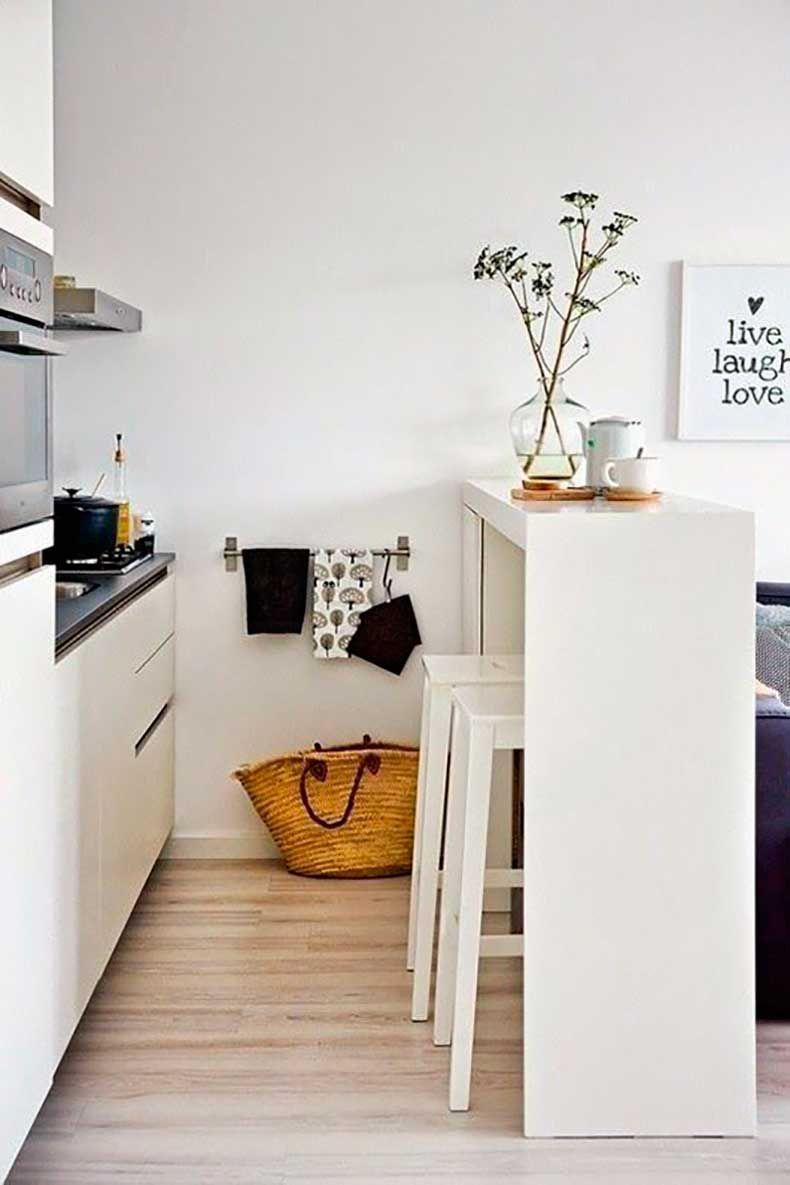 6 Ideas Para Aplicar En Tu Cocina Pequeña | Cocina pequeña, Apliques ...