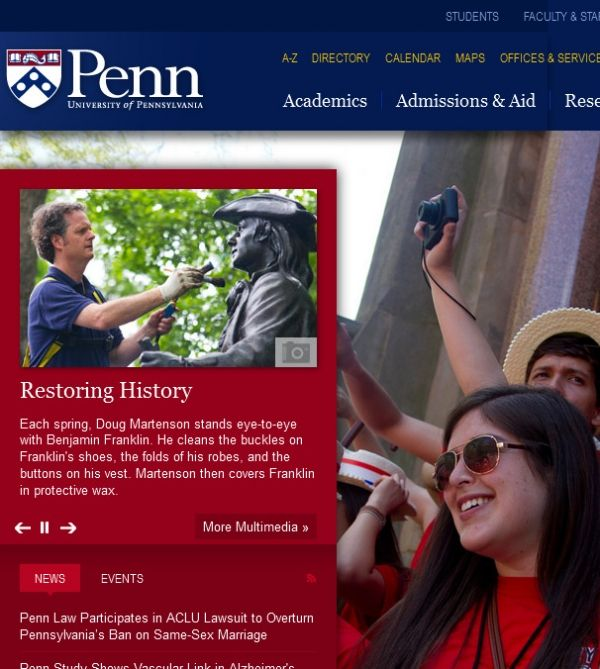 University of Pennsylvania 3451 Walnut St Philadelphia PA 19104 University City Colleges & Universities