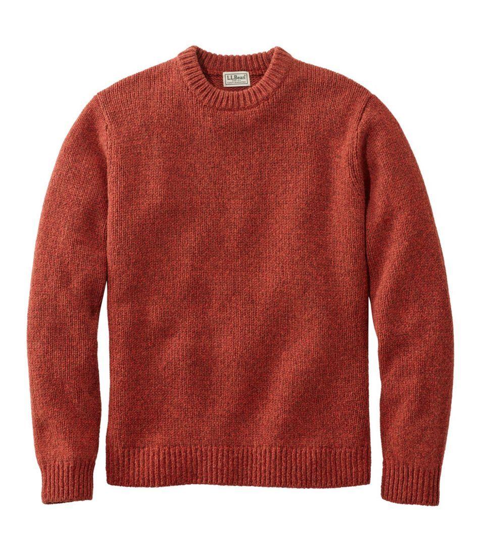 Men S Bean S Classic Ragg Wool Sweater Crewneck Regular Ragg Wool Sweater Men Sweater Ragg Wool [ 1092 x 950 Pixel ]