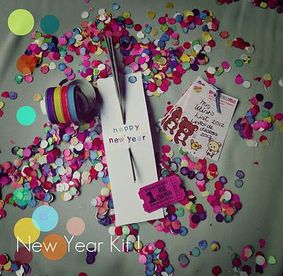 New Year party kit !