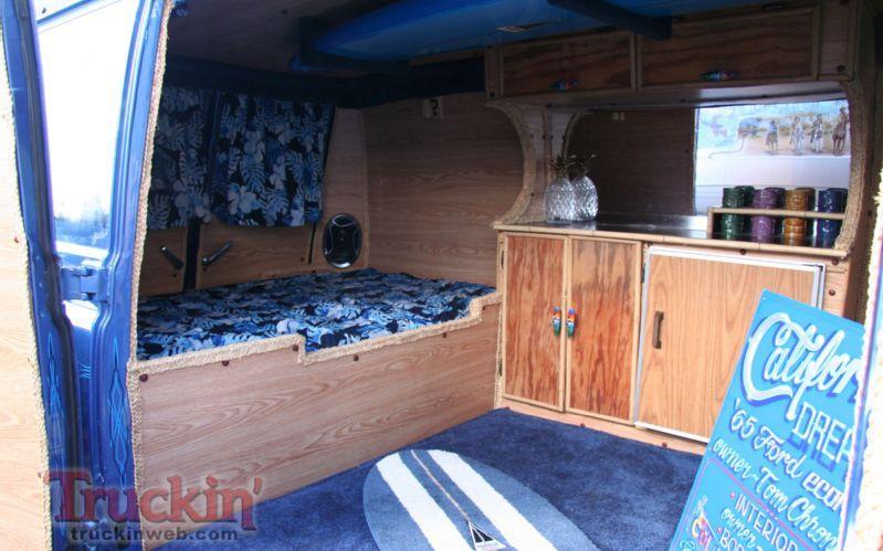 Ford Econoline Camper Van Interior