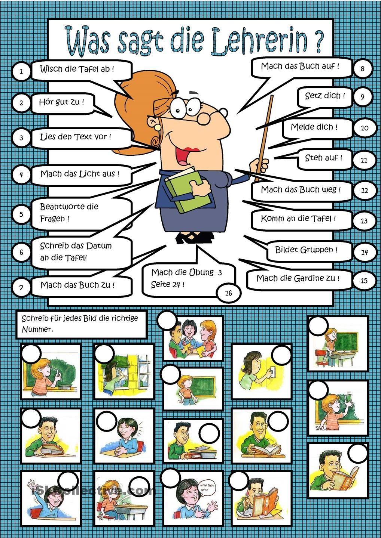 Klassensprache - Was sagt die Lehrerin? | Methodik Didatik im ...