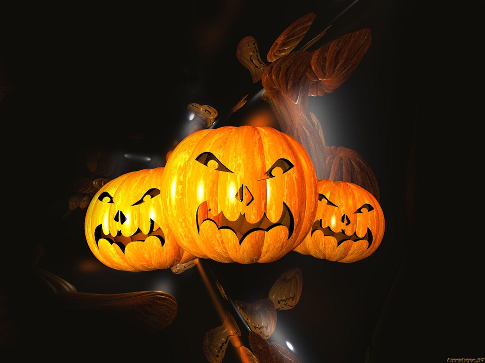 Halloween Halloween wallpaper, Scary halloween pumpkins