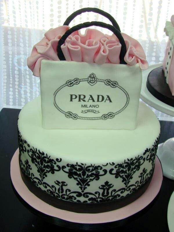 af11f4da026f Prada cake Must Have | birthday theme | Cake, Fashionista cake ...
