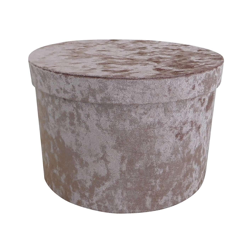 Blush Velvet Storage Box Dunelm