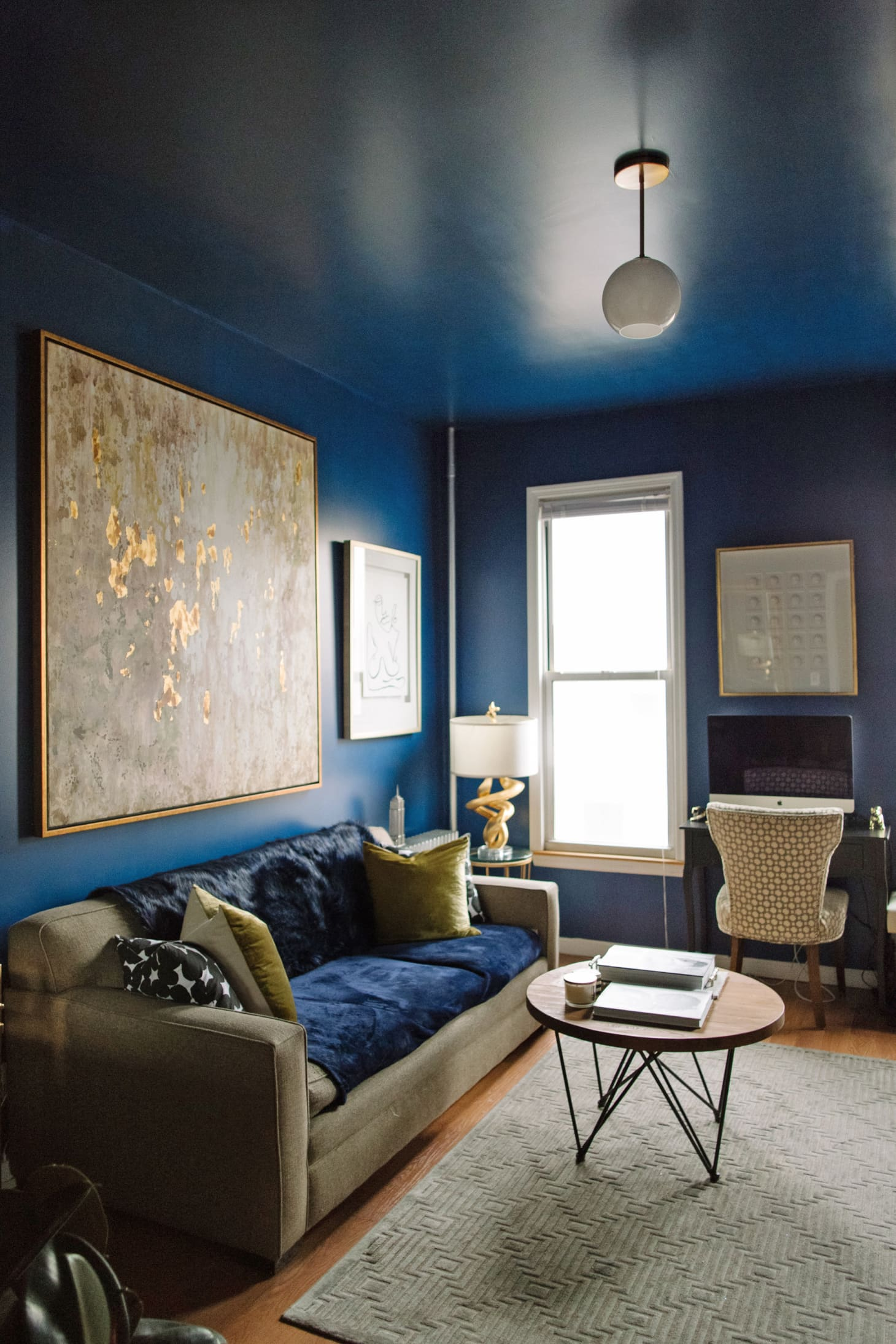 The Best Blue Living Room Paint Colors, According to Real ...