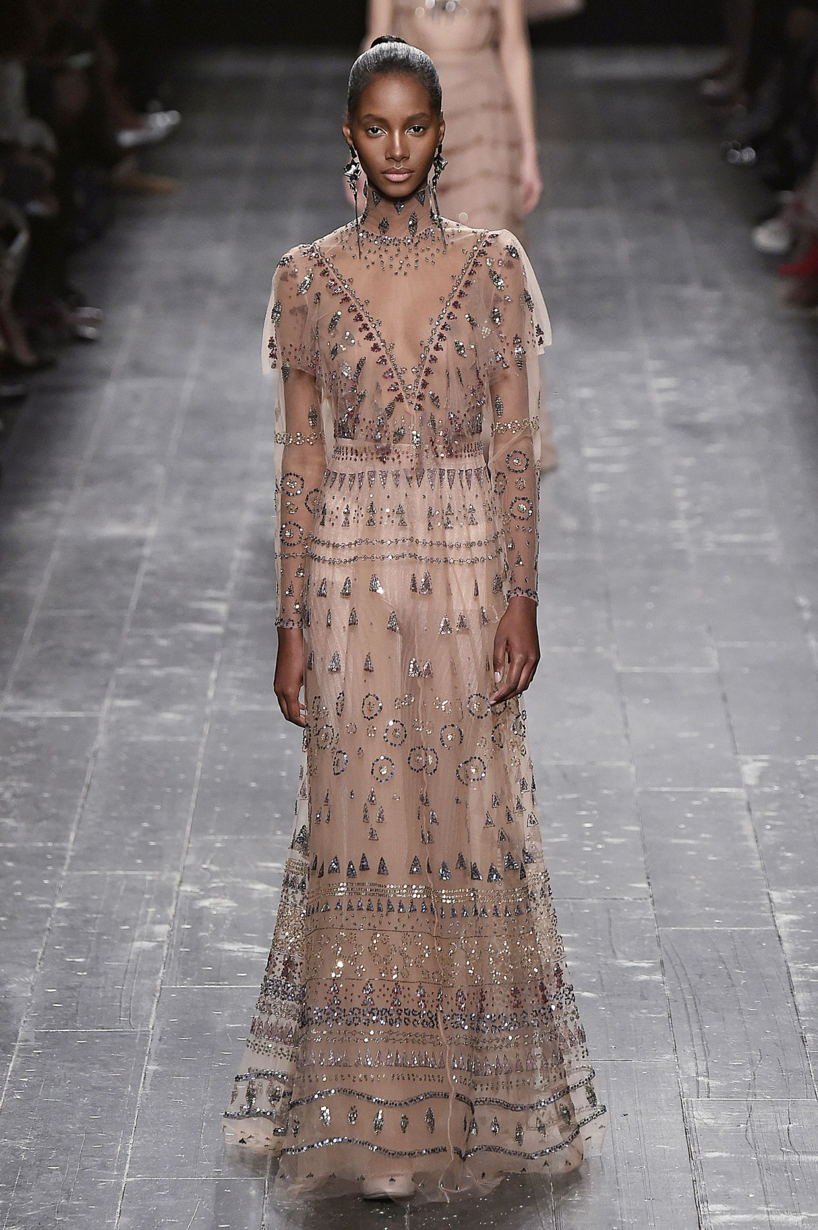 Dianna agron wedding dress  You Have to See Dianna Agronus  Valentino Wedding Dress