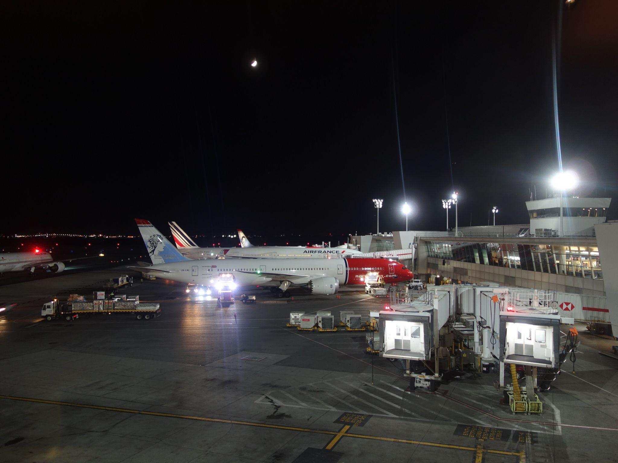 201710002 New York City Queens JFK airport with Norwegian