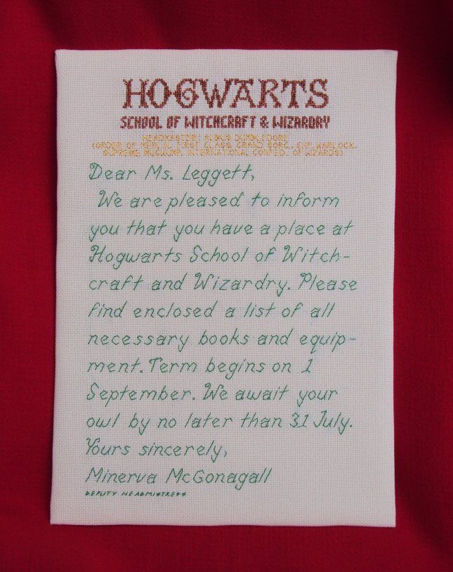 Welcome To Hogwarts  Acceptance Letter Acceptance And Hogwarts