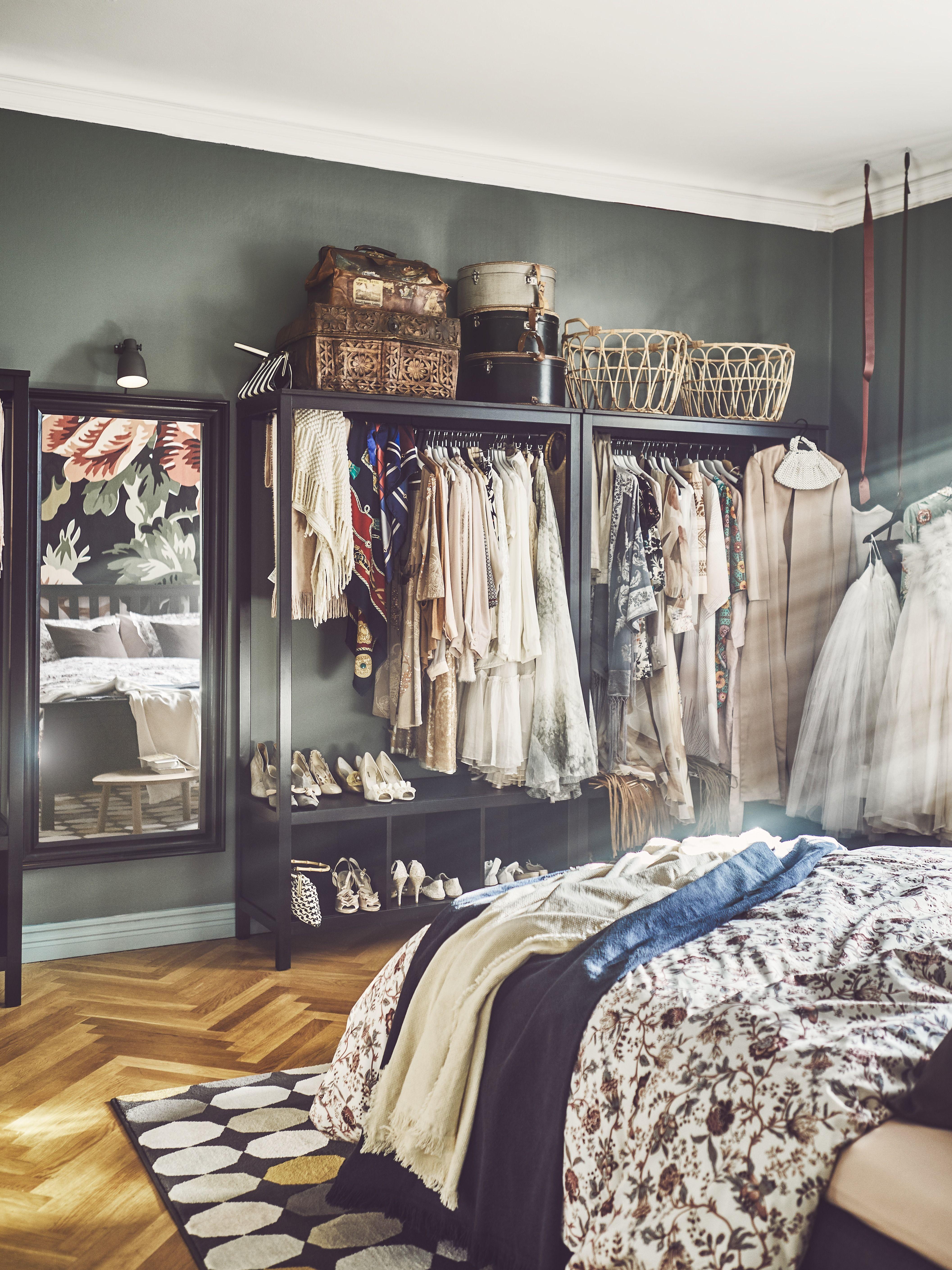 hemnes kleiderschrank, offen, weiß las in 2018 | apartment