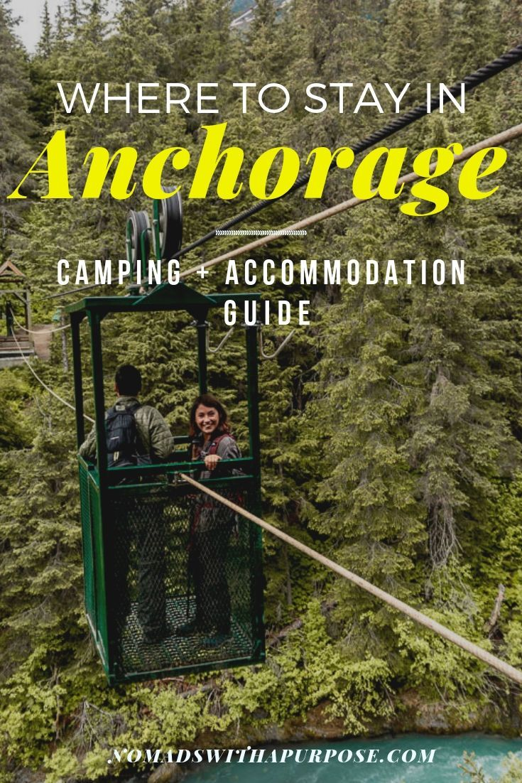 Anchorage camping where to stay on a trip