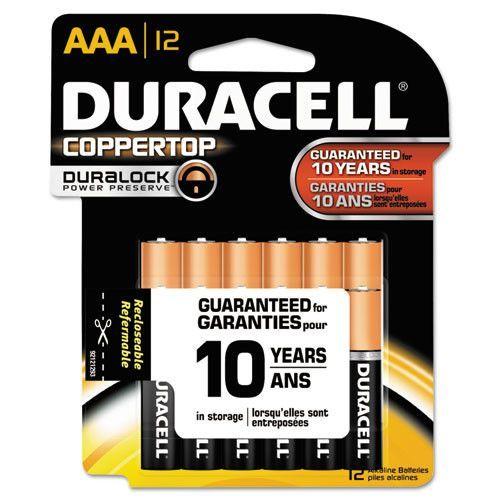 Duracell CopperTop Alkaline AAA Battery